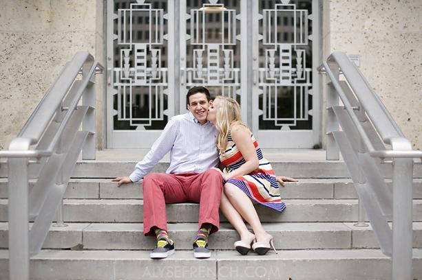 City Hall Engagement Stephanie Jonathan